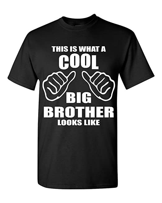 This Is What A Cool Big Brother Looks Like T-shirt Funny Shirts