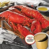 Lobster Gram's Classic Dinner For Two in Boil In Canister by Lobster Gram