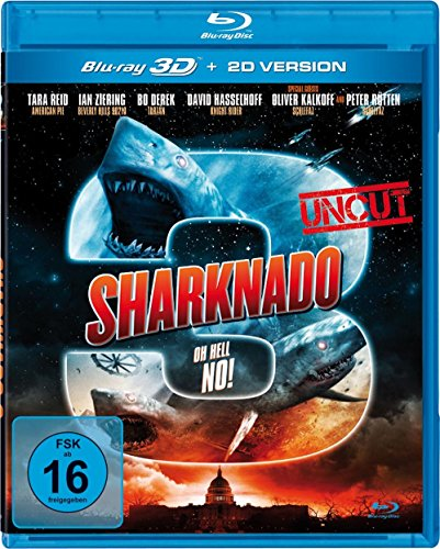 Sharknado 3 - Oh Hell No! 3D inkl. 2D Version (UNCUT) [3D Blu-ray]