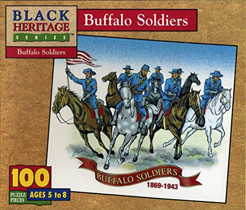 Black Heritage Series - Buffalo Soldiers - Jigsaw Puzzle - 100 Pc