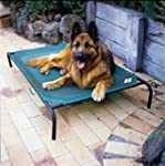 Coolaroo Elevated Pet Bed Large Bruns...