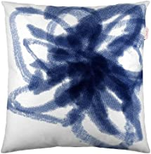 Esprit Home 50477-080-50-50 Housse De Coussin Mouvement Dimensions 50 X 50 Cm, Bleu