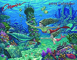 2015 Mermaid and Pirate Calendar - Based on Hand Crafted Paintings