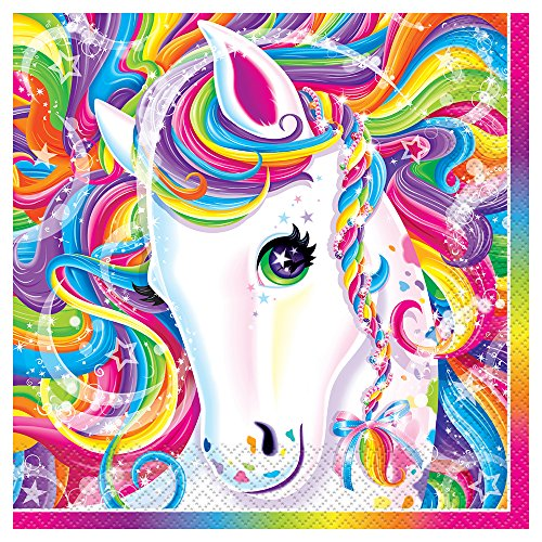 Rainbow Majesty by Lisa Frank Luncheon Napkins, 16ct