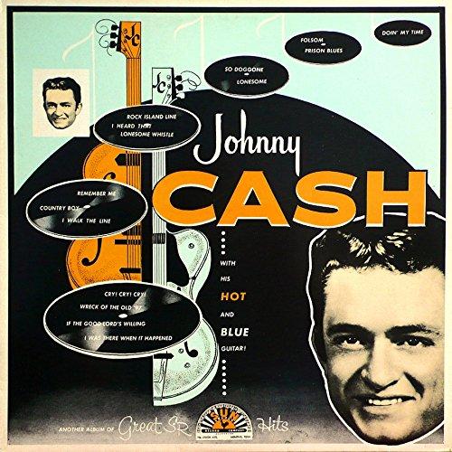 Vinilo : Johnny Cash - With His Hot & Blue Guitar (Colored Vinyl)