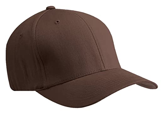 Flexfit 5001 6-Panel Structured Mid-Profile Cap - BROWN - L/XL