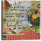 DEMDACO Breathe in Beauty Wall Art