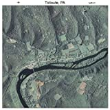 Aerial Photography Map of Tidioute, Pennsylvania 2010 PA