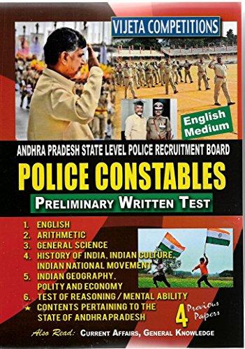Andhra Pradesh State Level Police recruitment Board POLICE CONSTABLE-Preliminary Written Test -...