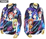 GEE!限定 THE IDOLM@STER 765PROオールスターズ フルグラフィックパーカー-L