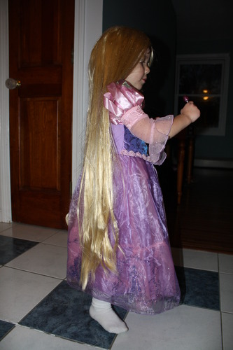Amazon.com: Tangled Rapunzel'S Longest Hair Wig (Window ...