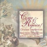 img - for Come & Rejoice! Christmas Instrumentals for Hammer Dulcimer & Classical Guitar book / textbook / text book