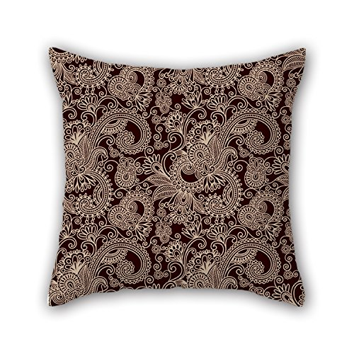 NICEPLW Paisley Throw Cushion Covers 18 X 18 Inches / 45 By 45 Cm Gift Or Decor For Wedding,husband,study Room,kids,pub,kids Room - Both Sides (Fish Tank Filler Hose compare prices)