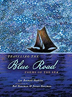 Book Cover: Traveling the Blue Road: Poems of the Sea