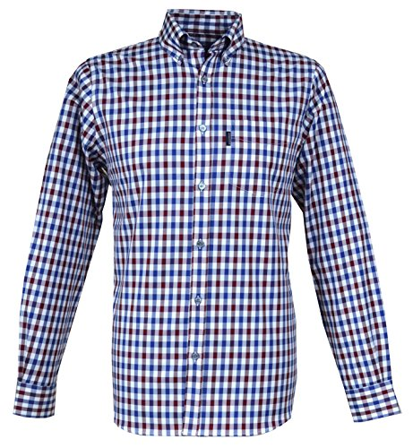 aquascutum-chemise-casual-col-boutonne-homme-rouge-medium