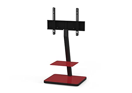 'Sonorous PL 2710Red HBLK TV Stands for 50TV's
