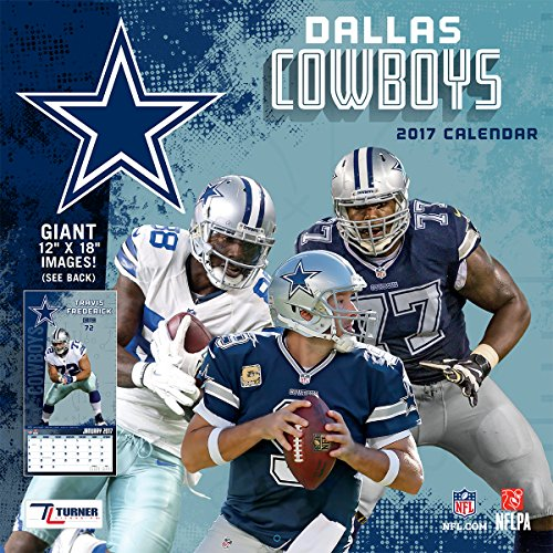 Turner Licensing Sport 2017 Dallas Cowboys Team Wall