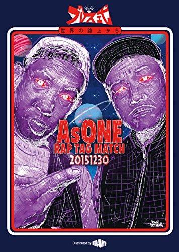 AsONE -RAP TAG MATCH- 20151230 [DVD]