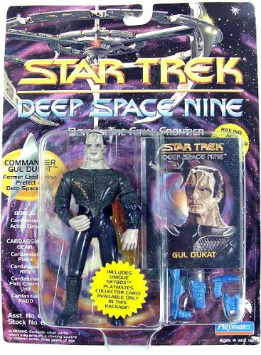 Star Trek Deep Space Nine Commander Gul Dukat 4 inch Action Figure