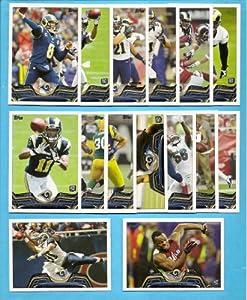 2013 Topps Football St. Louis Rams 15 Card Team Set Including Sam Bradford, Tavon... by Topps