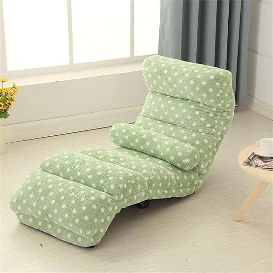 Letto divano letto singolo pieghevole Tatami Può essere lavato e lavato balcone computer balcone Camera da letto bay camera da letto , green