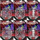 エヴァンゲリオン マイクロアクションフィギュア SERIES 01 使徒襲来 全6種セット US版