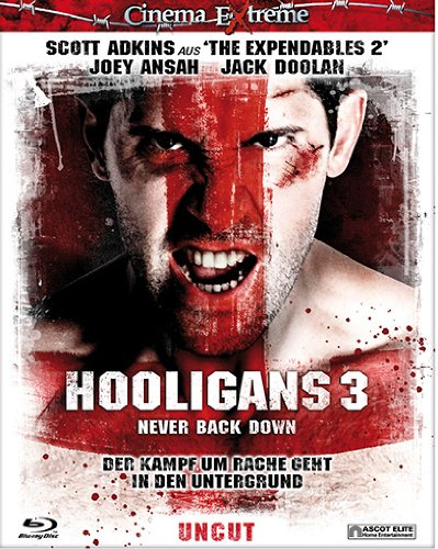 Hooligans 3 - Never Back Down - uncut (Cinema Extreme) [Blu-ray]