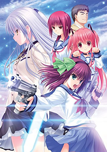 Angel Beats! -1 st beat-[Book Award: /Na-Ga-GAL unreleased single CD 'Million Star' painted down colored paper]