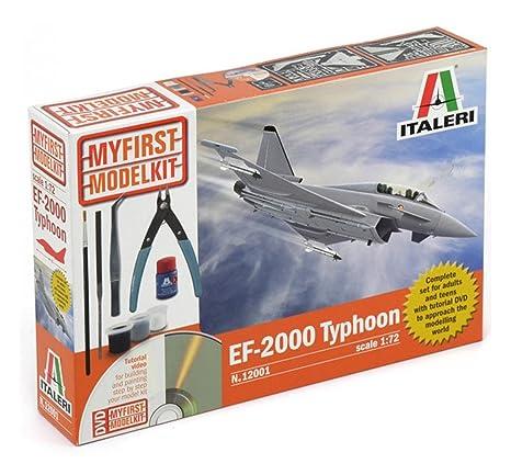 Italeri - I12001 - Maquette - Aviation - EF-2000 Typhoon - Echelle 1:72