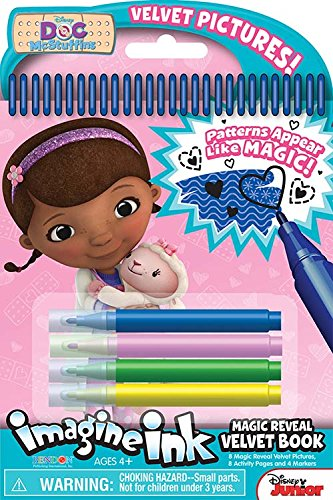 Bendon Publishing Doc McStuffins Magic Reveal Velvet Activity Book
