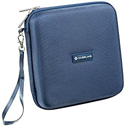 Caseling for Portable External USB DVD CD Blu-ray Rewriter / Writer and Optical Drives Hard Carrying Travel Storage Case Sleeve Bag - Black Caseling for Portable External DVD / Cd Writer, Optical Drives Hard Carrying Travel Storage Case Bag - Blue