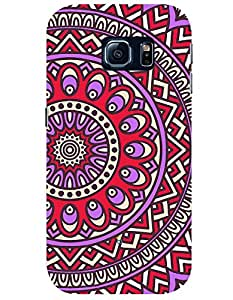 myPhoneMate Red and Purple case for Samsung Galaxy S6