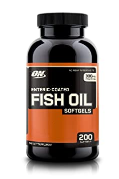 Optimum Nutrition Fish Oil, 300 MG, 200 Softgels