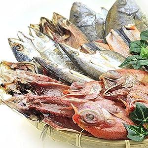 ギフト 対応商品 全品国内産 干物 6種類 12枚 セット (サンマ みりん干 金目鯛入り)