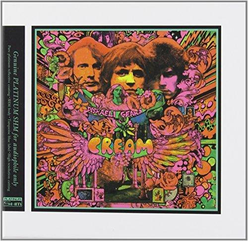 Disraeli Gears (STEREO & MONO) +6 [Cardboard Sleeve (mini LP)] [Platinum SHM-CD] [Limited Release] by Cream (2013-11-26) (Platinum Shm Cd compare prices)