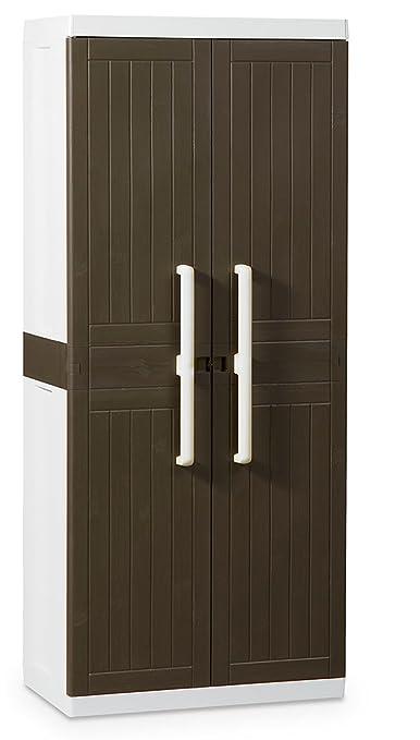 Toomax Wood Line L - Armario, 2 puertas, 4 estantes