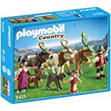 Playmobil Country - Pastores alpinos con animales (5425)