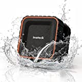 Inateck ポータブルBluetoothスピーカー ワイヤレススピーカー お風呂にも使える防水スピーカー iPhone、iPod、iPad、Android搭載スマートフォン対応