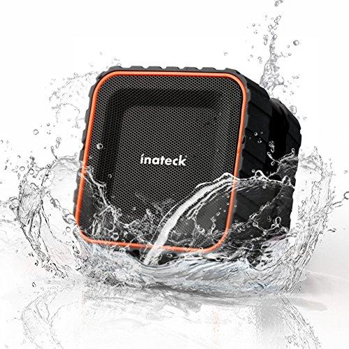 [Etanche]Inateck BTSP20 Enceinte Bluetooth Portable, Haut-parleur Stéréo Sans Fil, Mini Enceinte Bluetooth Waterproof Ventouse Etanche IPX5