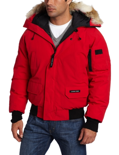 Canada Goose Men's Chilliwack Front-Zip Jacket with Fur Trimmed Hood парка canada goose 4074m 49