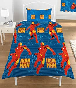 iron man single bed cover Spiderman spider man reversible single bed quilt cover set multi spider-man for sale on trade me easy to iron reversible quilt cover super soft.