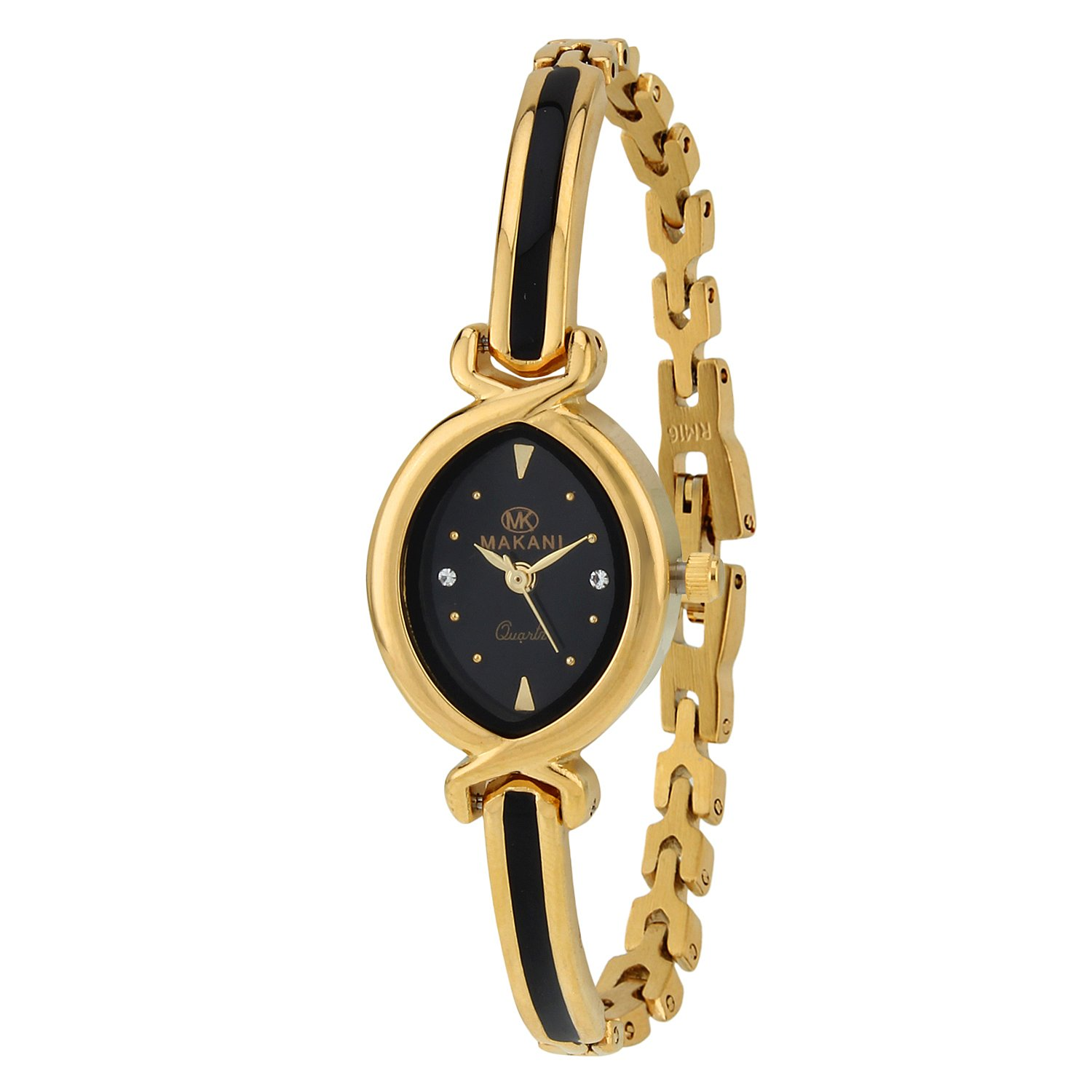 Espoir Makani Collection Analog Black Dial Women's Watch - ShrutiHassanGold0507 By Amazon @ Rs.399