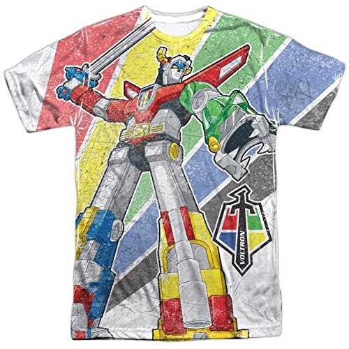 Sublimation: Mighty Robot Voltron T-Shirt