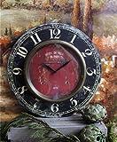 Shabby Paris Chic Wooden Clock Home Decor