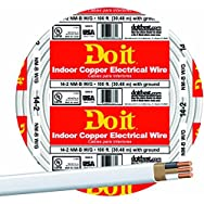 Southwire 28827419 Do it Nonmetallic Sheathed Cable-100' 14-2 NMW/G WIRE