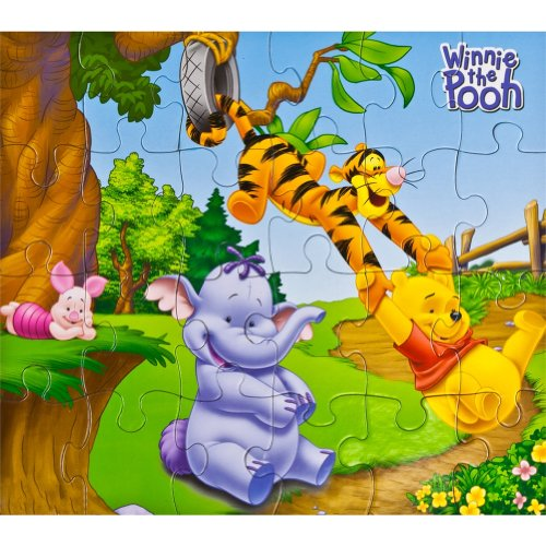 Winnie the Pooh - Tire Swing Group 24 Piece Puzzle - 1