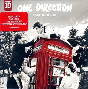 One Direction - Take Me Home LIMITED DELUXE EDITION With 5 BONUS Tracks (0100) Audio CD from unknown