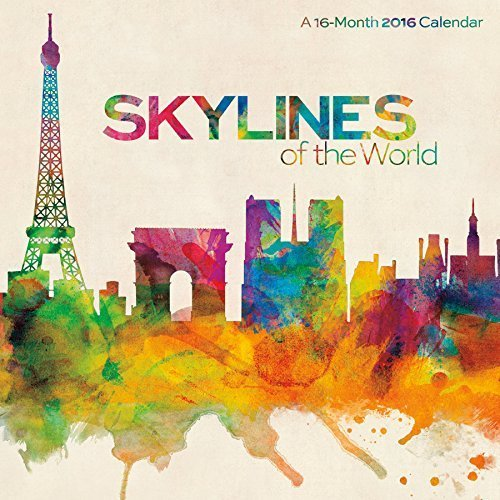 Skylines of the World Michael Tompsett Calendar by Michael Tompsett (2015-06-01)