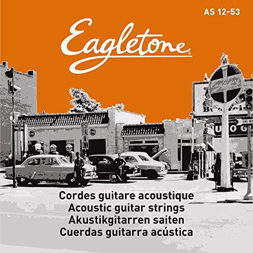 Eagletone AS 12-53 Cordes pour guitare folk medium light 12-53
