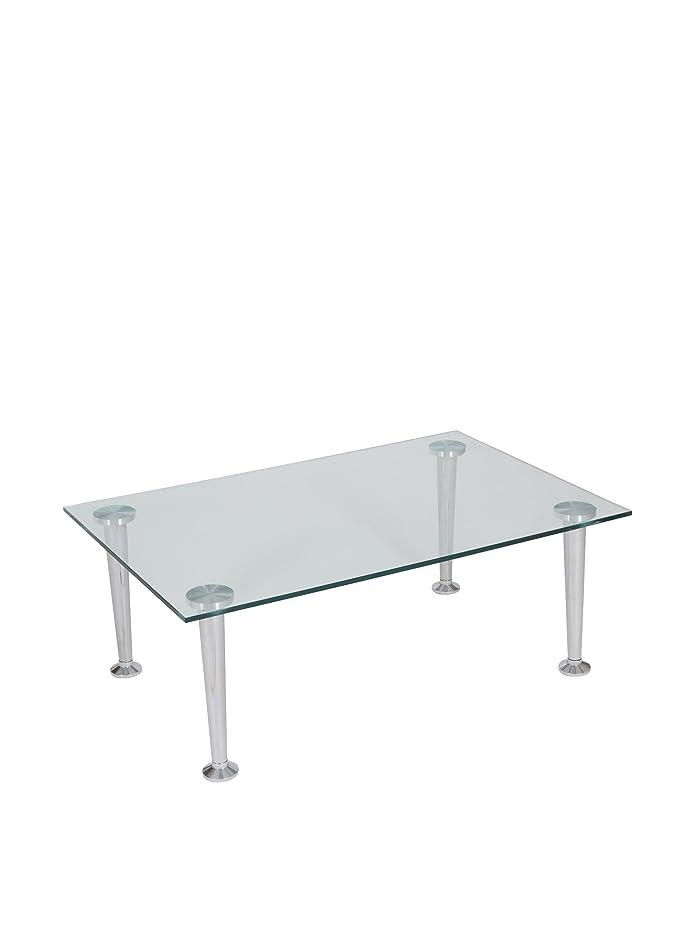 Tavolino in vetro